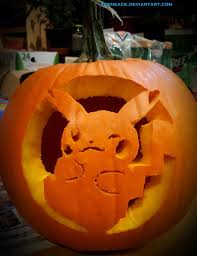 halloween pikachu jack o lantern by xerneace on deviantart