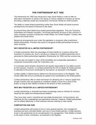 business partner agreement image collections agreement example ideas