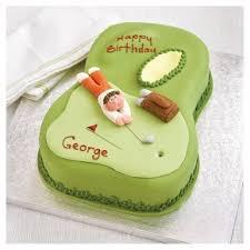 golf celebration cake waitrose