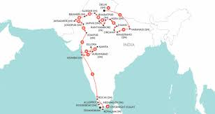 Mumbai India Map by Grand Tour Of India India Tour Wendy Wu Tours