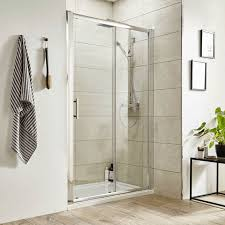 how to clean your glass shower door with a lemon u0026 salt one good