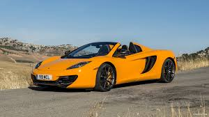 orange mclaren wallpaper 2013 mclaren mp4 12c spider front hd wallpaper 137