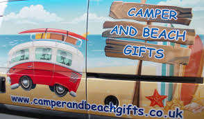 something different camper and beach gifts christmas cards