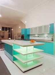 Design Trend Blue Kitchen Cabinets   Ideas To Get You Started - Turquoise kitchen cabinets