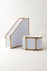 Shabby Chic Office Accessories by Rachel Ashwell Shabby Chic Couture Florentine Magazine Holder