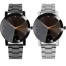 watches for men luxury watches women fashion crystal bracelet wrist watch men mesh