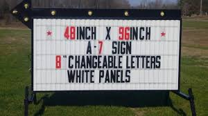 used outdoor lighted signs for business value outdoor lighted business signs used for best of