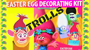 Easter Egg Decorations Craft Kit by Diy Trolls Easter Egg Decorating Kit 2017 Poppy Branch Turtles