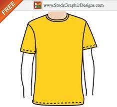free vector orange t shirt design template vector t shirt