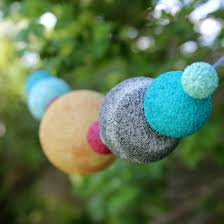 Outer Space Decorations Outer Space Planet Garland How To From Onecharmingparty Com