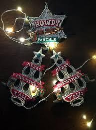 251 best cowboy christmas ornaments images on pinterest