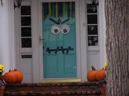 Halloween Ghost Decor Front Doors Kids Ideas Front Door Hallowesen Decoration Idea 34