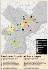 Philadelphia Neighborhood Map Where Charters Run The Neighborhood Schools