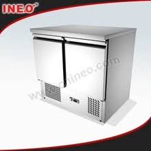 restaurant commercial kitchen refrigerator refrigerated table