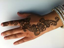 how to do a simple henna design youtube