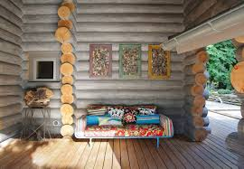 cozy wooden cottage surrounded by moscow u0027s lush forests