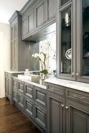 kitchen gray kitchen cupboards modern kitchen featuring cabinet