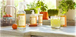 thymes candles the thymes mandarin coriander wash lotion sink set with caddy