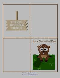 groundhog day cards free printable groundhog day greeting cards enchanted