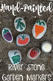 Painted Rocks For Garden by Hand Painted River Stone Garden Markers Building Our Story