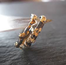 black gold wedding sets unique wedding band set black gold ring set 18k 14k mens