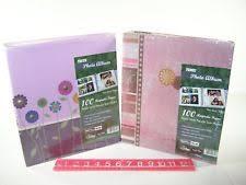 pioneer magnetic photo album cardboard self adhesive photo albums ebay