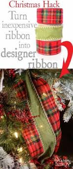 cheap ribbon for sale christmas wired ribbon 2 1 2 wide tartan by cottagecraftsonline