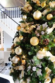 12 foot christmas tree how to decorate a 12 ft christmas tree with gold tones
