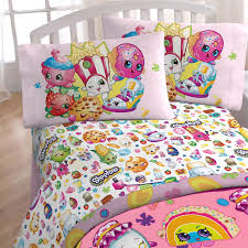 Twin Sheet Set 3pc Shopkins Twin Sheet Set I Love Shopping Bedding Accessories