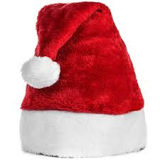 official plush santa claus hat comfort liner