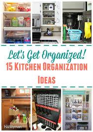 15 kitchen organization ideas