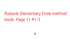 friendship quote korean rubank elementary flute method book page 11 1 5 youtube