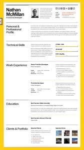 nice resume template haadyaooverbayresort com