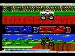 bigfoot monster truck game nes bigfoot some strategy and side scroller level control youtube