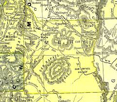 Utah Map Of Counties by Utah 1895 County Maps