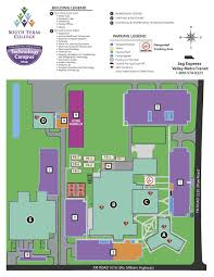 campus maps south texas college