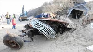 40 year old jeep unearthed from cape cod sand dune youtube
