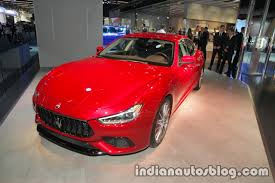 maserati red 2017 2018 maserati ghibli granlusso u0026 gransport showcased at iaa 2017