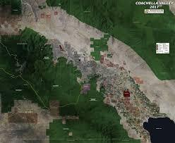 coachella valley aerial wall mural landiscor real estate mapping wall map mural coachella valley