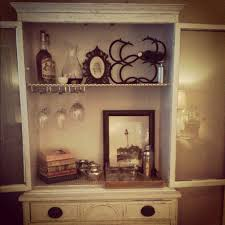 diy turn a hutch into a bar u2013 growing up gibson