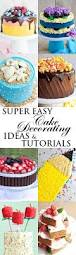 100 cake decorating ideas at home simple cake decoration at