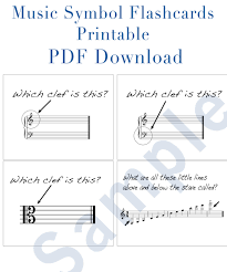 music notation flashcards download and printable pdf great