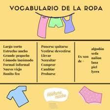 vocabulario del calzado profedeele es español vocabulario