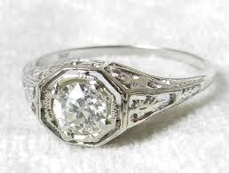 edwardian style engagement rings deco engagement ring deco style ring edwardian