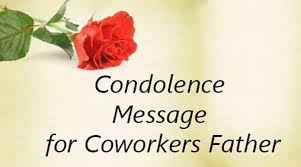 condolence cards condolence message for coworkers