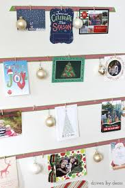 displaying cards with a diy card tree driven by decor