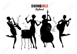 swing jazz orchestra four jazz swing or charleston