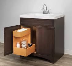 kitchen sink cabinet caddy homewerks worldwide ripvanshelf2 slide out storage cabinet sink organizer 19 inch 2 tier premium wood finish