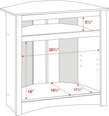 white corner television cabinet tall corner tv cabinet for 40 clear creek amish furniture brilliant
