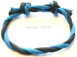 paracord bracelet braid images New fashion cross knot wrist paracord bracelet plastic buckle jpg